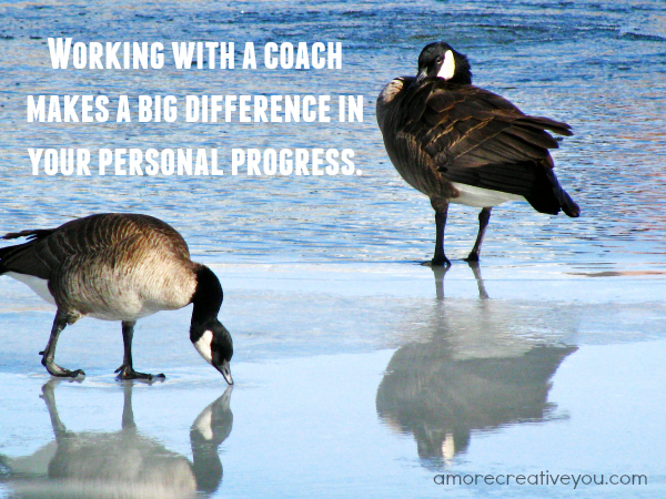 Working with a life coach