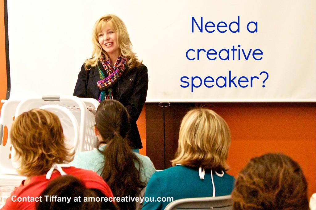 need a creative speaker, creativity speaker
